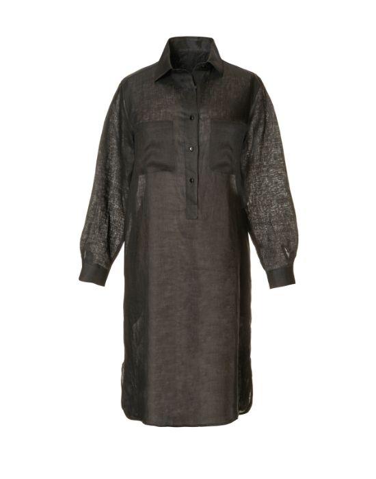 Λινό shirt dress NaraCamicie TOO10-FO9086