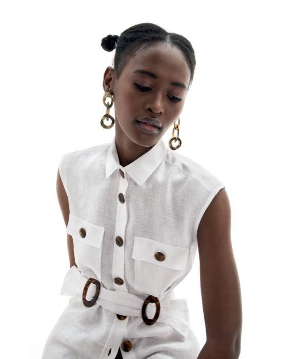 Safari style πουκάμισο TOO10-DO9069