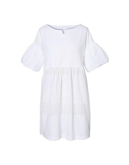 Τουνίκ φόρεμα σε broderie anglaise NaraCamicie T6944-DO9108