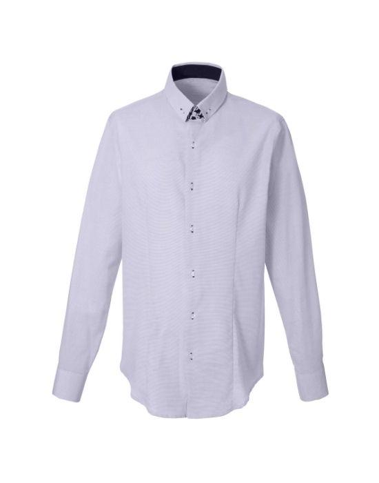 Pinpoint βαμβακερό πουκάμισο NaraCamicie T6911-HO3040