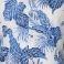 ALCAMPIONE Blue floral σε λευκή βάση