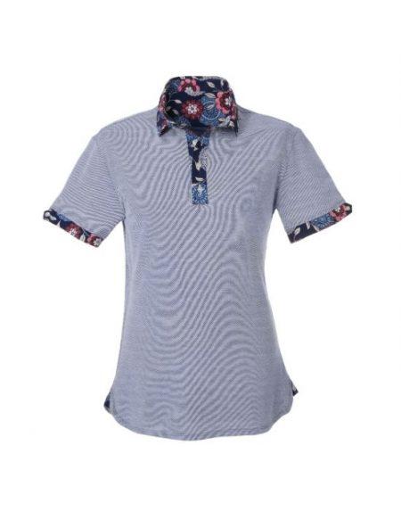 Ανδρικό polo Τ-shirt NaraCamicie E2113-MA0203