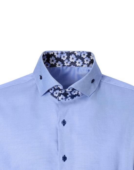 Non iron ανδρικό πουκάμισο NaraCamicie T3557-HO3041