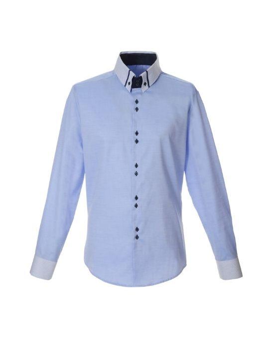 Ανδρικό πουκάμισο με ιδιαίτερο γιακά NaraCamicieT3557-HO3052