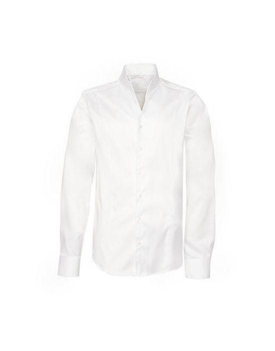 Non Iron ανδρικό πουκάμισο με μάο γιακά T3890-HO3090