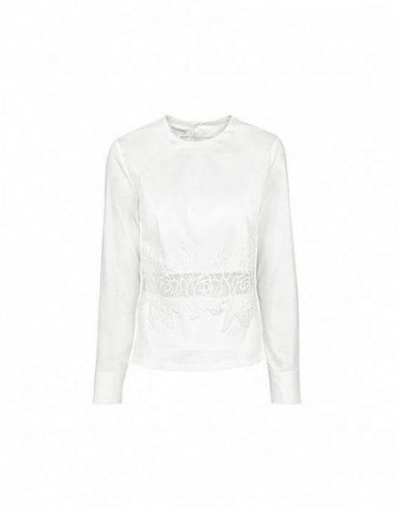 Μπλούζα με απλικέ κέντημα Nara Camicie T3449-FO9192