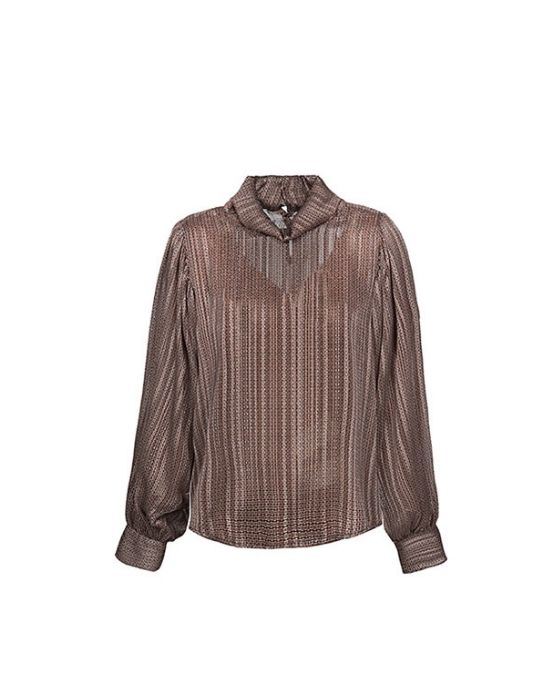 Col roule μπλούζα Nara Camicie-T6988-FO9134