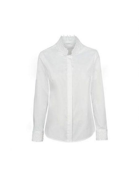 Γυναικείο mandarin collar πουκάμισο Nara Camicie T3449-FO9146