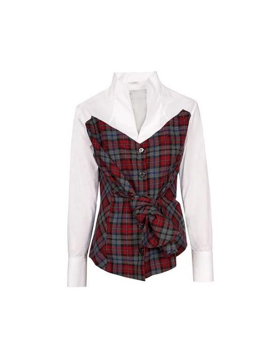 Bodice cut πουκάμισο Nara Camicie  T7033-FO9183