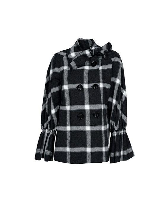 Fashionable plaid jacket Nara Camicie T7024-FO9184