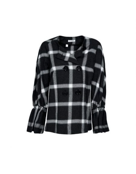 Fashionable plaid jacket Nara Camicie T7O24-FO9184