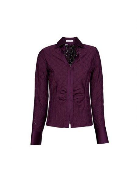 Perforated meryl πουκάμισο Nara Camicie T6857-FO9132