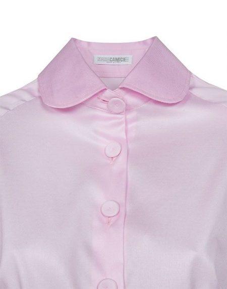 Club collar γυναικείο πουκάμισο Nara Camicie T3890-FO9152