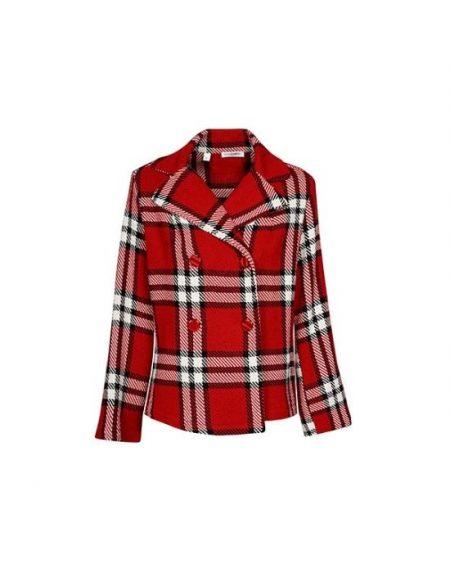 Cross button γυναικείο jacket Nara Camicie T7002-FO9155