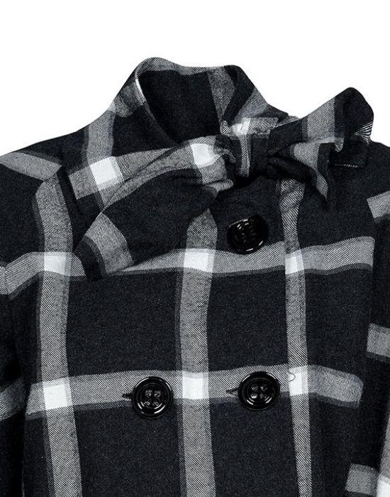 Fashionable plaid jacket T7024-FO9184
