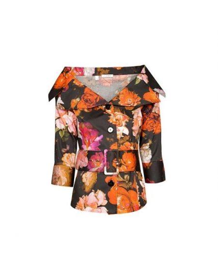 Floral print πουκάμισο Nara Camicie T7040-FO9212