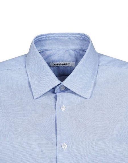 Κλασικό ανδρικό πουκάμισο Organic Cotton Nara Camicie I2108-LA0235