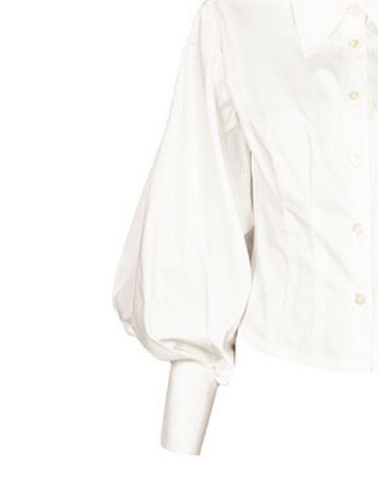 Κλασικό body cut γυναικείο πουκάμισο Nara Camicie T3449-FO9221