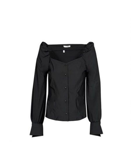Κομψό sweetheart decollete πουκάμισο Nara Camicie T7014-FO9164