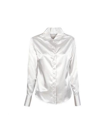 Light satin πουκάμισο Nara Camicie T8278-FO9171