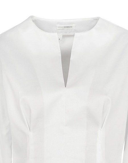 Oxford μπλούζα με πλούσια μανίκια Nara Camicie T3890-FO9153
