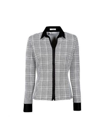 Prince de Galles meryl πουκάμισο Nara Camicie T7009-FY6896