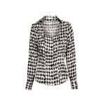 Twill patterned γυναικείο πουκάμισο Nara Camicie T7019-FO9205