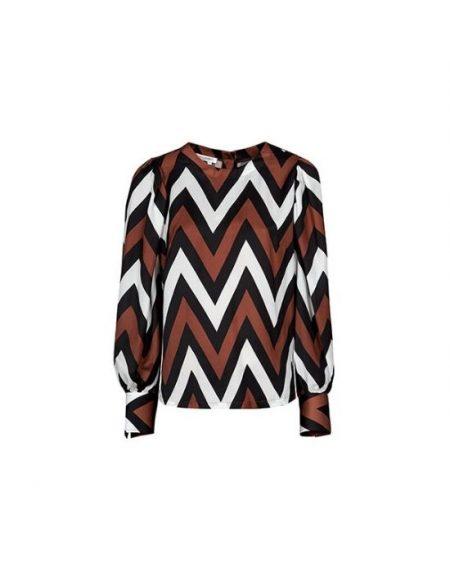 Zigzag 70s γυναικεία μπλούζα Nara Camicie T7003-FO9156