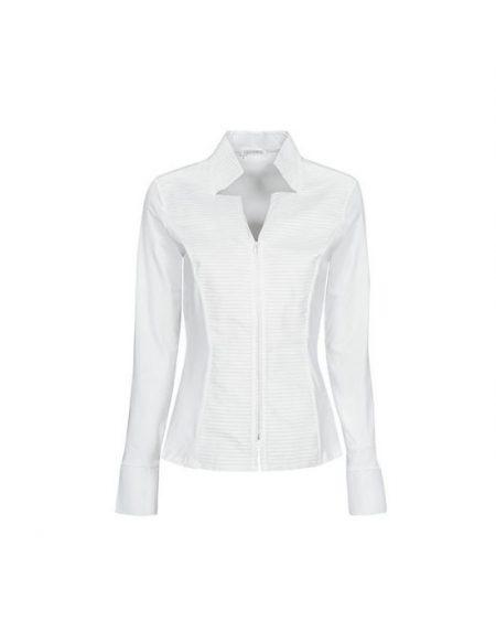 Zipped πουκάμισο piegolina Nara Camicie TOO16-FO9201