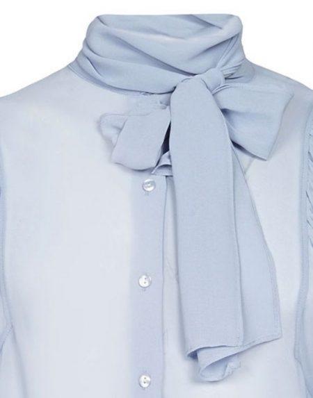 Gigot sleeve πουκάμισο Nara Camicie T5061-FO9178